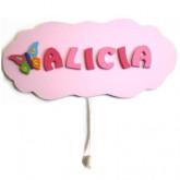 Boîte à musique personnalisée «nuage papillon»