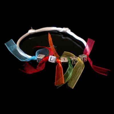 Bracelet arc en ciel billes de clowns - Bracelet arc en ciel ...