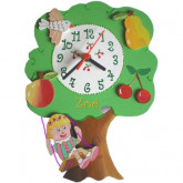 Horloge enfant personnalise arbre