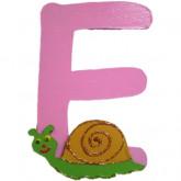 Lettre E comme escargot