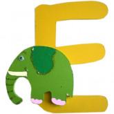 Lettre E comme éléphant