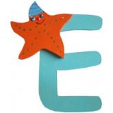 Lettre E comme étoile de mer