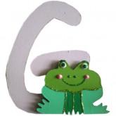Lettre G comme grenouille