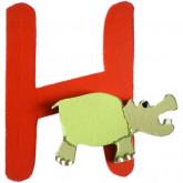 Lettre H comme hyppopotame