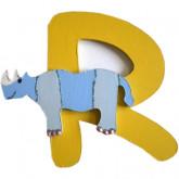 Lettre R comme rhinocéros