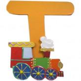 Lettre T comme train