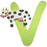 Lettre V comme vache