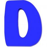 Lettre en bois D