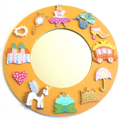 Miroir il tait une princesse billes de clowns for Miroir princesse