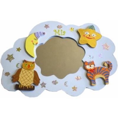 Miroir nuage billes de clowns for Miroir nuage