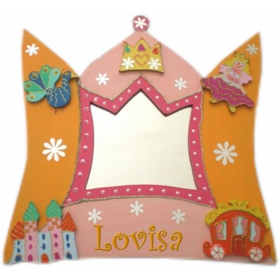 Miroir princesse billes de clowns for Miroir princesse