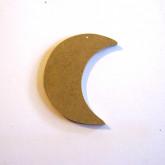 Décoration en bois lune