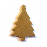 Décoration en bois sapin de Noël