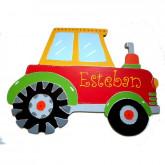 Plaque de porte tracteur