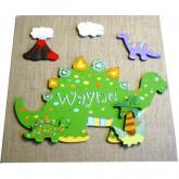 Tableau personnalisé dinosaure
