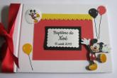 Livre d'or baptême thème Mickey