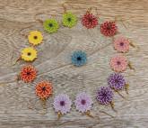 Boucles d'oreilles fleurettes
