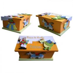 boîte «trésors de chevalier»