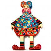 Clown «Roi de coeur»