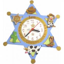 "horloge """"Cow-boy"