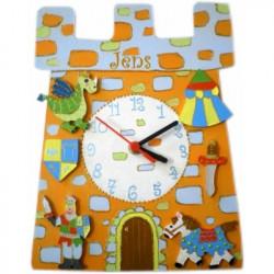 Horloge enfant personnalisée chevalier