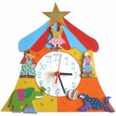 Horloge enfant personnalisée cirque