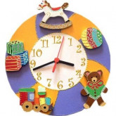 Horloge enfant personnalisée les jouets
