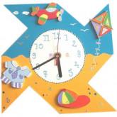 Horloge enfant personnalisée petit garçon