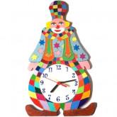 Horloge murale enfant clown Ampoule