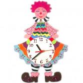 Horloge murale enfant clown Clafoutis