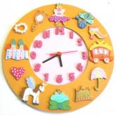 Horloge il était une princesse
