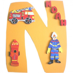 Initiale pompier