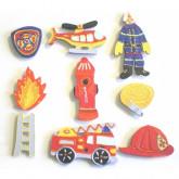Motifs pompier