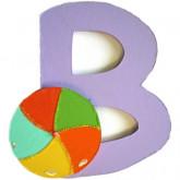 Lettre B comme ballon