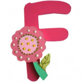 Lettre F comme fleur