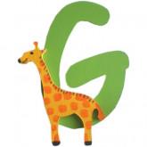 Lettre G comme girafe