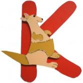 Lettre K comme kangourou