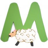Lettre M comme mouton