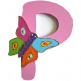 Lettre P comme papillon