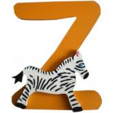 Lettre Z comme zèbre
