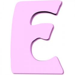 Lettre en bois E