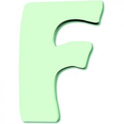 Lettre en bois F