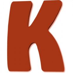 Lettre en bois K