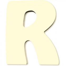 Lettre en bois R