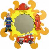 Miroir Pompier