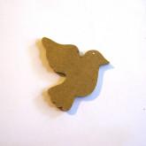 Décoration en bois colombe