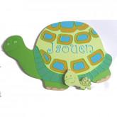 Plaque de porte tortue