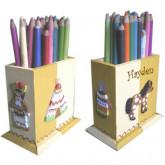 Pot à crayons petit indien