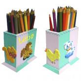 Pot à crayons Les animaux
