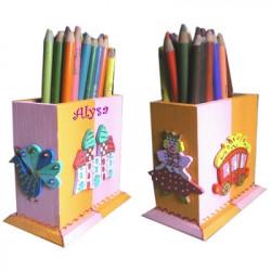 Pot à crayons Princesse